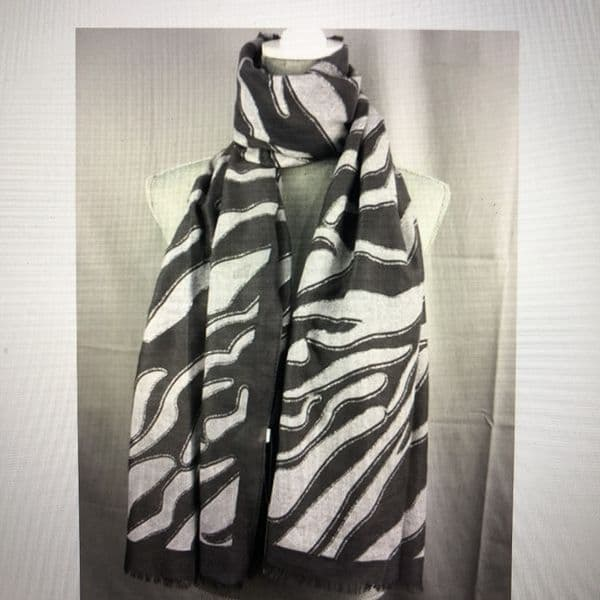 SPECIAL OFFER Animal print scarf with sparkle - various colours